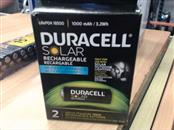 DURACELL SOLAR RECHARGEABLE LIFEP04 18500